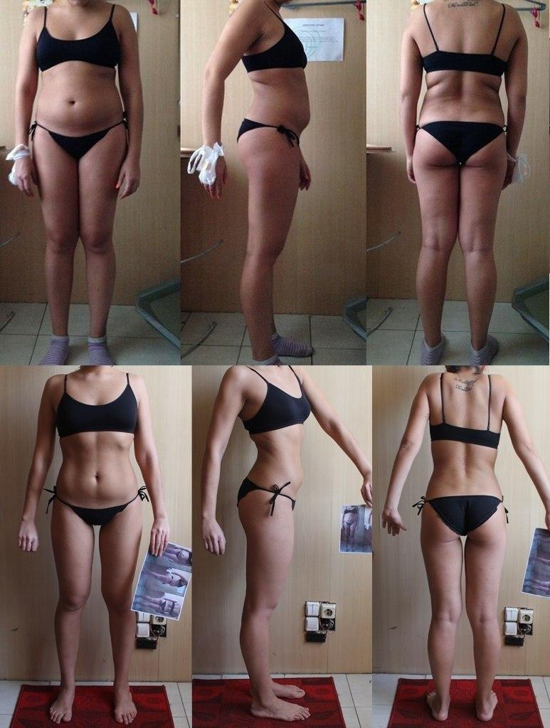 похудела за 2 месяца после родов