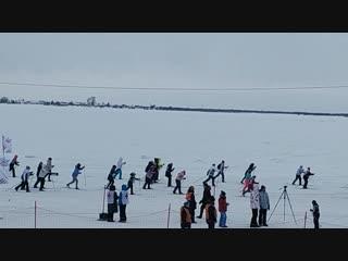 Лыжня России в Архангельске_