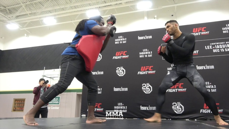 UFC on FOX 31 Kevin Lee Open Workout (Complete) - MMA Fighting