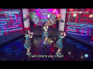 (Live) Perfume - Cling Cling (Music Station 2014.07.11)
