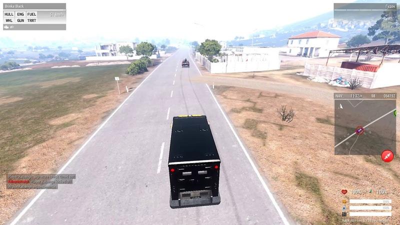 Инкасаторский конвой от 05 11 18 Arma3 Xabar RP Altis Life
