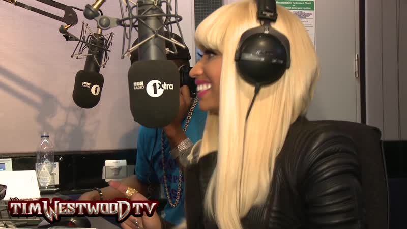Интервью Ники Минаж для Tim Westwood (BBC Radio 1xtra, 2011г.) (HD качество)