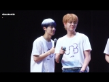 FANCAM 29.07.18 Chan (Moonlight) @ UNB 11th Nuri Dream Square Business Tower