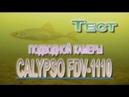 Тест подводной камеры CALYPSO FDV 1110