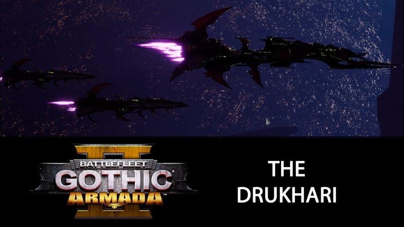 A Look at the Drukhari: Battlefleet Gothic: Armada 2 Pre-Order Beta
