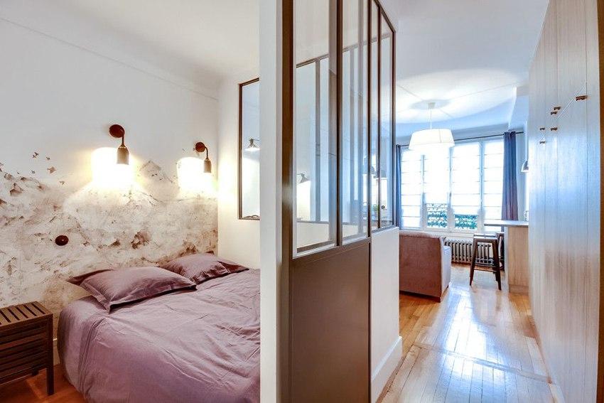 Квартира 30 м в Париже.