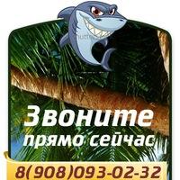 Логотип Туры выходного дня и горящие!Акула тур Челябинск