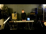 Ilya Malyuev plays Jon Hopkins Vessel in rehearsal