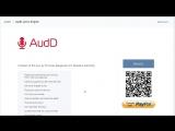 Поиск текста песен и песен по тексту в AudD
