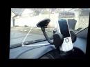 Тест крепления для телефона планшета GPS в автомобиль