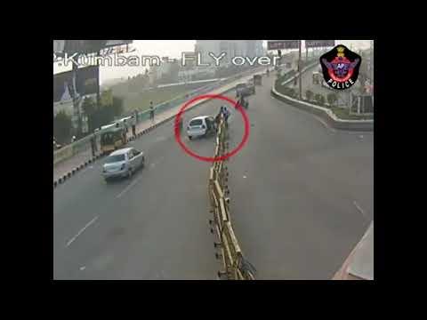 Canlı yayında trafik kazaları