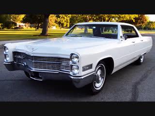Автомобиль Cadillac Sedan DeVille Hardtop, 1966 года