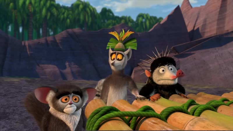 All Hail King Julien S05E02- Круговорот