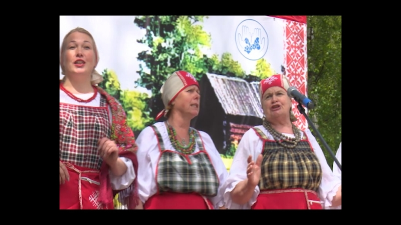 Древо жизни - праздник в столице вепсов Ленинградской области
