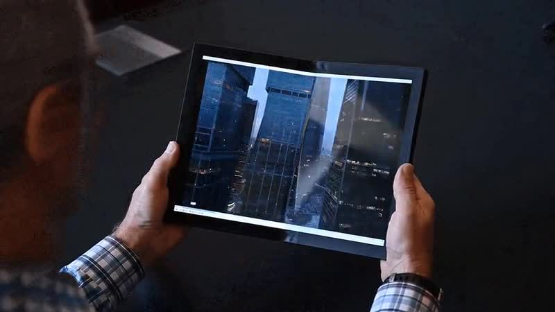 Концепт ноутбука Lenobo со складным экраном