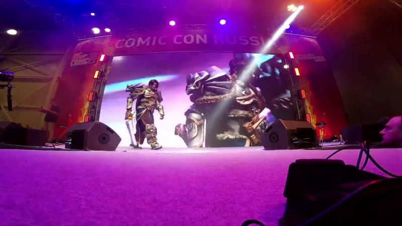 Videos на Comic Con Russia и ИгроМире 2017 г