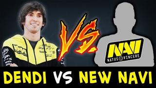 DENDI vs new NaVi offlane Blizzy — FIRST time