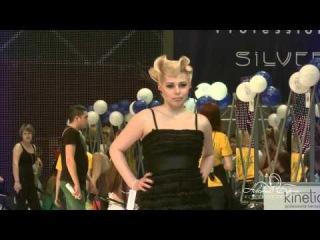 Женские парикмахеры Фантазийное двоеборье 2-й вид Конкурсная вечерняя прическа 80-х годов ХХ века
