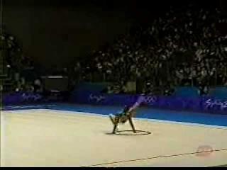 Olympic Games Sydney 2000 - Alina Kabaeva RUS Hoop final
