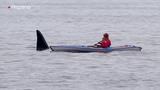 Mientras practicaba Kayak se consigui