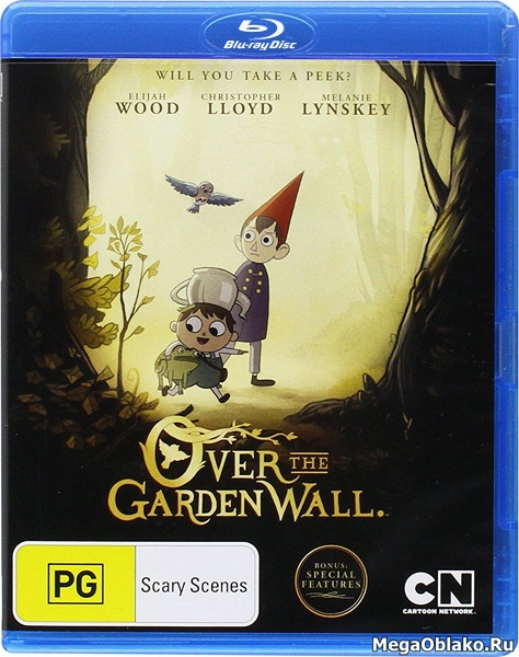 По ту сторону изгороди (1 сезон: 1-10 серии из 10) / Over The Garden Wall / 2014 / ДБ / BDRip + BDRip (720p) + (1080p)