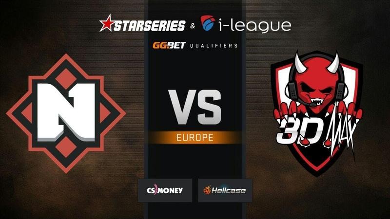 Nemiga vs 3DMAX, map 2 dust2, StarSeries i-League S7 GG.Bet EU Qualifier