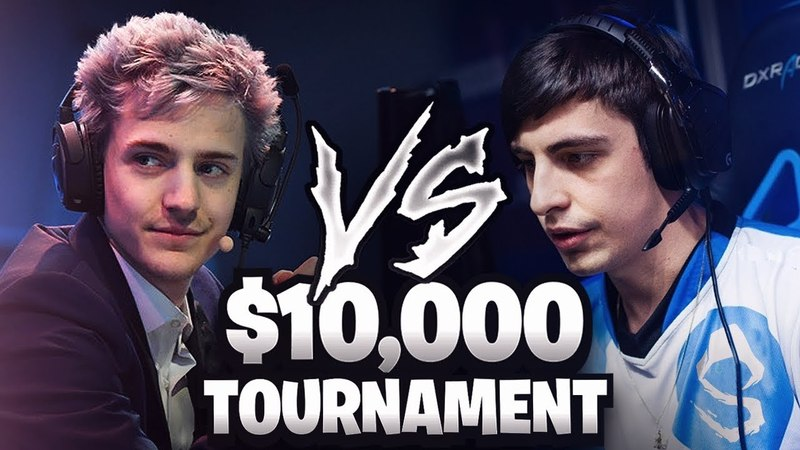 SHROUD VS NINJA! [10,000$ FORTNITE TOURNAMENT]