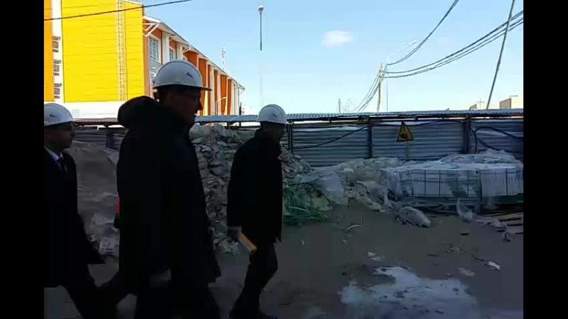 Посещение депутатами Госсовета Коми школы в Орбите