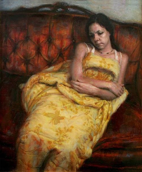 Живопись американского художника Хулио Рейеса (Julio Reyes). Рейес родился в семье иммигрантов, вырос на окраине Лос-Анджелеса, поэтому в его работах часто присутствуют сельские и индустриальные