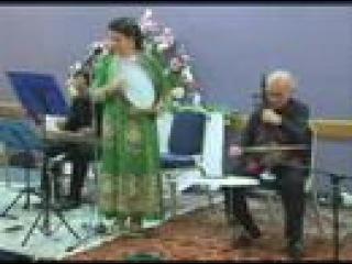 Iranian ( Kurdish ) traditional folk song - kamancheh, zarb