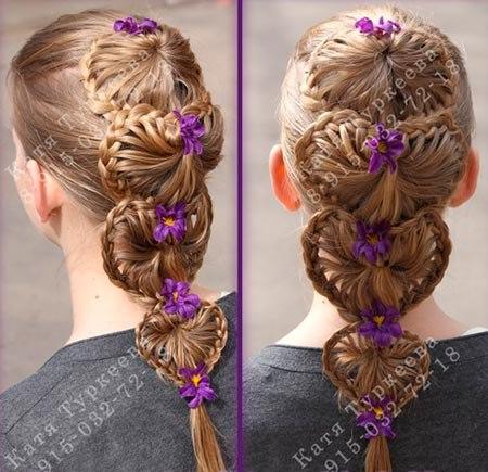 Необычное плетение — коса