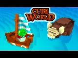 Дикий Бык Как Остров В Океане. Карибские Приключения (Cube World) #2
