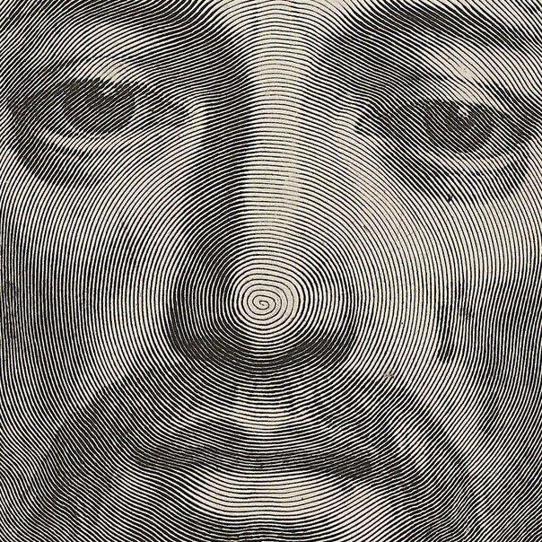 "Уникальная гравюра ""La Sainte Face"" (Holy Face), 1649 год."