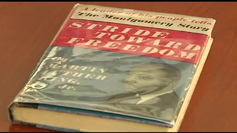 First-edition signed copy of MLK book on display in Allentown museum