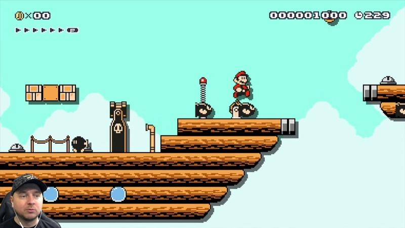 Super Mario Maker 147: нашествие POW