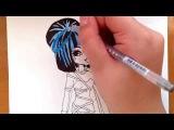 Как рисовать монстр хай Клео де Нил sweet 1600
