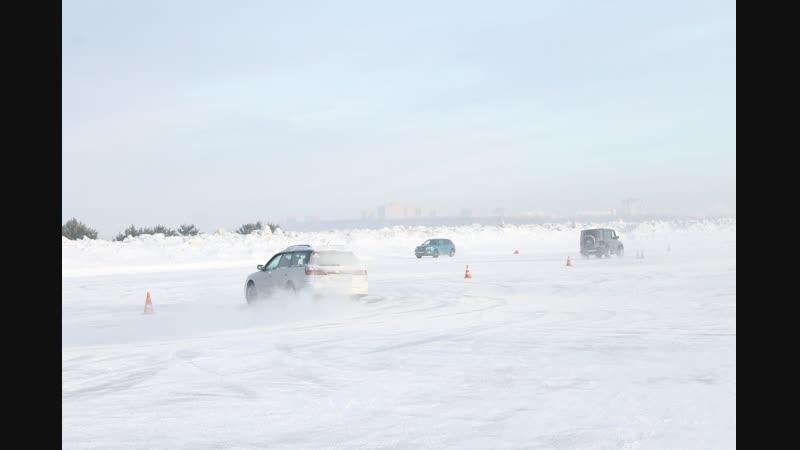 Экстремальное вождение на льду Автодрайвер154