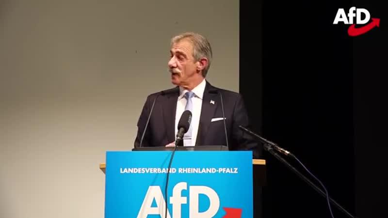 Rede des Landesvorsitzenden Uwe Junge -AfD- auf dem Landesparteitag in Bingen -15-12-2018-