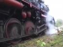 Schwerer Dampfzug vor Hauzenberg Teil 2 Anfahrt im Berg am 12 Mai