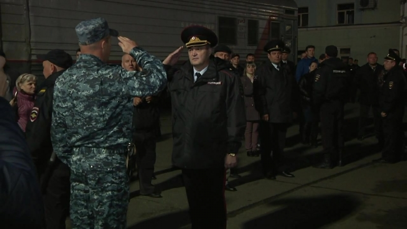 Кировские полицейские вернулись из служебной командировки
