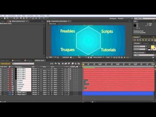 After Effects - Use o efeito Beam para Conectar Layers