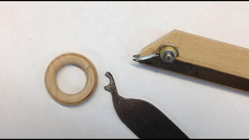 Изготовление резца для точения деревянных колец.