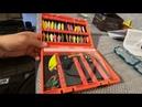 Поход в рыболовный магазин, коробка для блесен, катушка shimano stradic ci4 1000