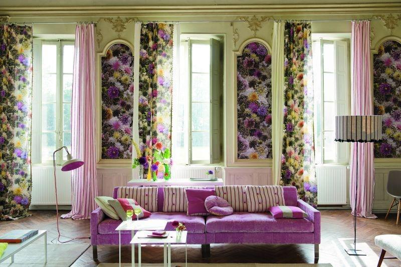 Цветы в интерьере дизайн