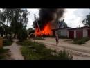 гаражи горят_