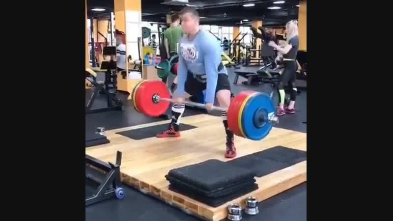 Как вам такая тяга😃 Даже мой тренер @ dmitry_epishko_team не ожидал! powerlifting deadlift powerliftingsochi тяга станова