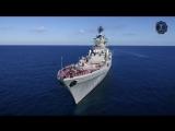 Тяжёлый атомный ракетный крейсер Пётр Великий .avi