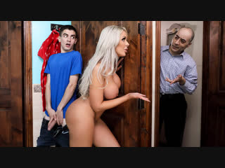 Nina elle - they feel real to me [brazzers. big ass, big tits, incest, milf]