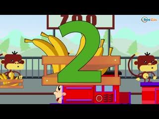 Паровозик Чух-Чух. Развивающий мультфильм для детей. Мультфильм про паровозы
