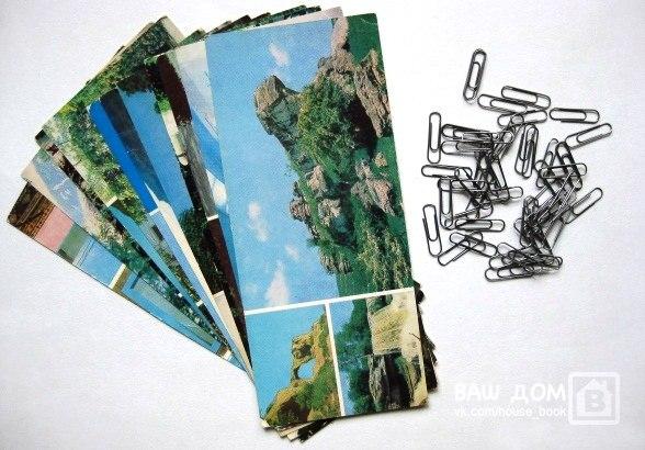 Занавески из открытки своими руками